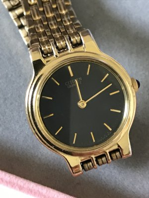 Citizen Analog Watch gold-colored stainless steel
