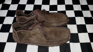 Clarks Lace Shoes dark brown
