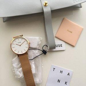 Original Cluse La Bohème Mesh Milanaise Rose-gold  CL18112 Damenuhr Armband NEU