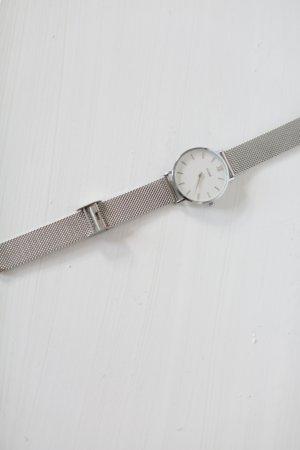 Original Cluse La Boheme Uhr Armbanduhr silber weiß Neu und ungetragen