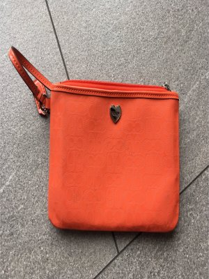 Coach Clutch salmon-orange