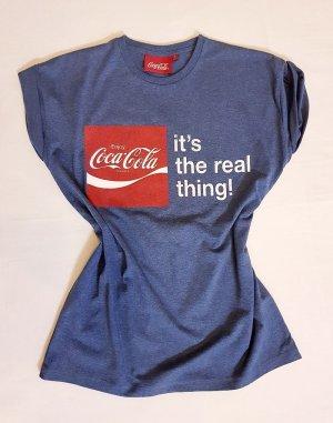 Original Coca Cola T-Shirt Gr. S blau neu