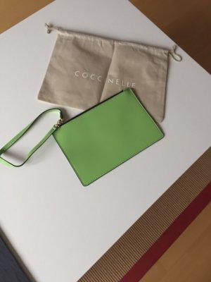 Original Coccinelle Clutch in lindgrün *neu*