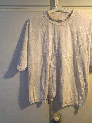 Chanel Camiseta blanco puro-beige claro