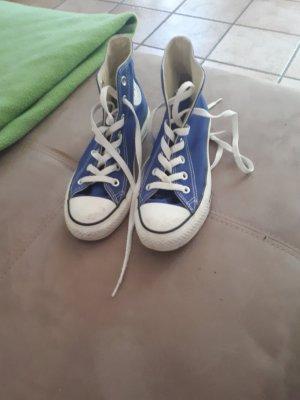 Original Converse Chucks, blau, Gr. 37