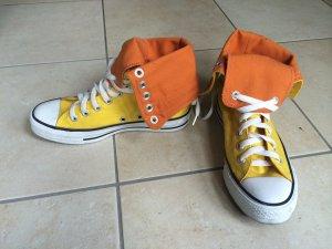Original Converse Chucks Gelb/Orange - Gr.36,5