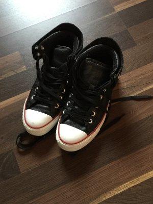 Original Converse Chucks in schwarz aus Leder
