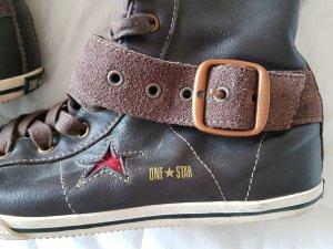 Original Converse Schnürstiefel All Star X-Xhi aus echtem Leder