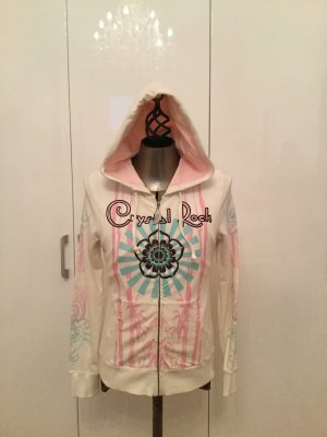 Crystal Rock by Christian Audigier Chaqueta de tela de sudadera multicolor