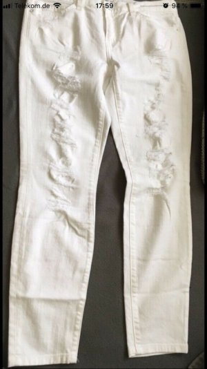 Current/elliott Skinny Jeans white