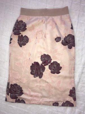 Dolce & Gabbana Pencil Skirt multicolored silk