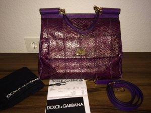 Original D&G Tasche in lila