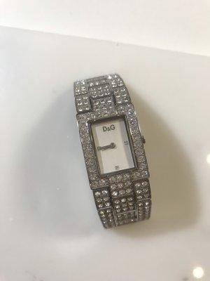 Original D&G Uhr mit Strasssteinchen