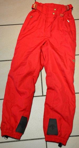 Pantalone da neve rosso