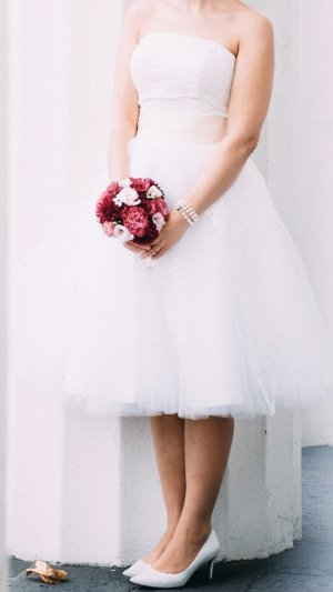 Wedding Dress white-cream