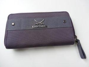 Original Designer Geldbörse von Sansibar in Trendfarbe lila