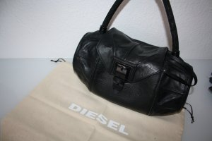 Diesel Carry Bag black leather