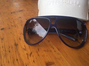 Original Diesel Pilot Sonnenbrille DS 0085 Aviator blau lila