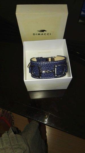 100 Braccialetto sottile blu scuro
