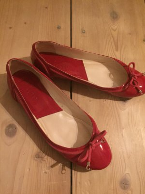 Original Dior Ballerinas in pinkem Lack