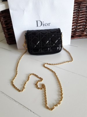 original Dior Cannage Quilted Patent Lady Dior
