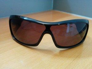 Original DIOR Designer Sonnenbrille Schwarz getöntes Verlaufglas UV-Schutz Etui