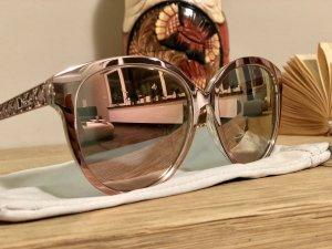 Dior Gafas mariposa color rosa dorado