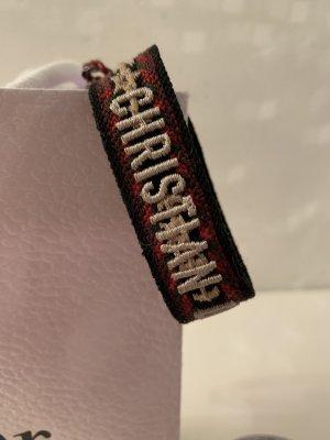 Dior Bracelet rouge foncé