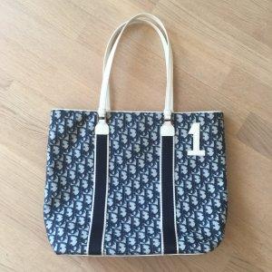 Dior Carry Bag dark blue-white