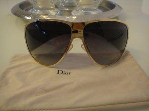 Original Dior Sonnenbrille in beigem Farbton