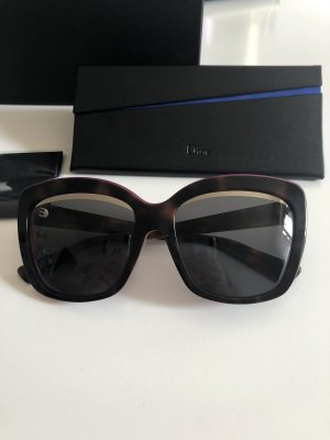 Christian Dior Butterfly Glasses brown-violet