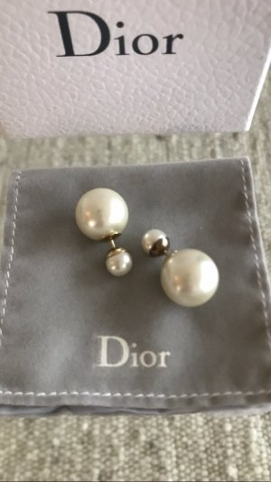 Dior Ear stud white-gold-colored