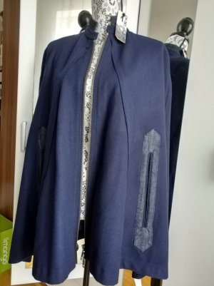 DKNY Jeans Cape donkerblauw