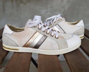 Original dolce & Gabbana Damen sneaker weiß Gold 38,5