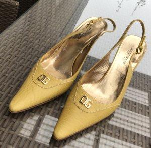 Original Dolce & Gabbana Designer Sandaletten Gr 40 wie Neu