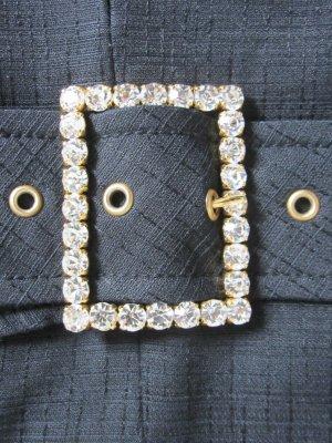 Original Dolce & Gabbana Minirock Vintage, mit Swarovski Kristallen IT Gr. 38