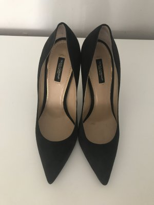 Original Dolce & Gabbana Pumps, anthrazit
