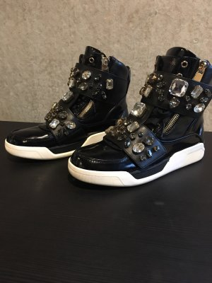 Dolce & Gabbana Klittenband Sportschoenen zwart