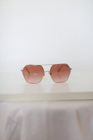 Dolce & Gabbana Angular Shaped Sunglasses rose-gold-coloured