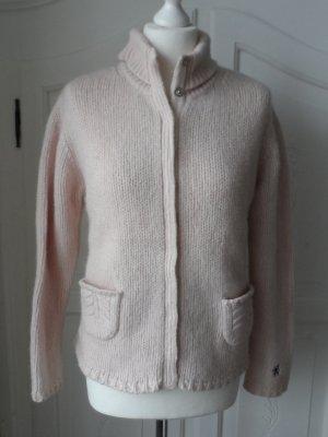 original DONALDSON Cardigan Gr. XL (40/42) Hellrosa aus Wolle und Cashmere
