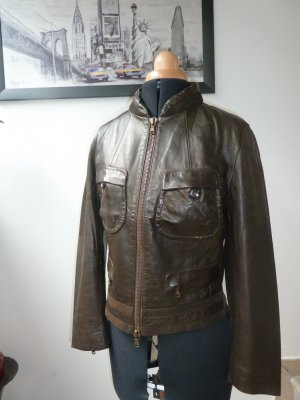 Original Donna Karan New York Lederjacke! Vintage!