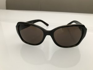 DKNY Hoekige zonnebril donkerbruin