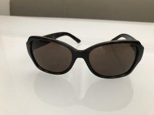 DKNY Gafas de sol cuadradas marrón oscuro