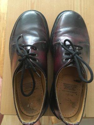 Dr. Martens Lace Shoes black-bordeaux leather