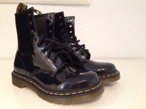 Original Dr. Martens Boots Stiefel Lack Gr.38 Neu