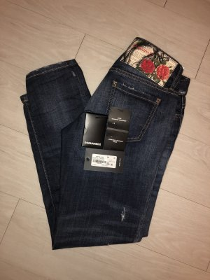 Original Dsquared2 Jennifer Cropped Jean, Gr. 36(IT), neu/ Jan. 19