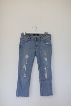 Original Dstld Jeans aus Los Angeles Washed Used Look Cropped Gr. M Stretch