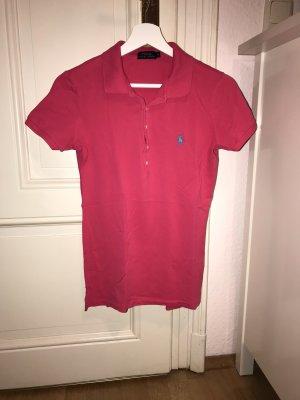 Original dunkelpinkes Ralph Lauren Poloshirt