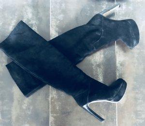 Original Echtleder Overknees Stiefel von Miu Miu in Gr. 36 NEU