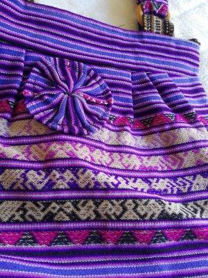 Original Edel Hippie Tasche aus Peru Latino Aztec Ethno Stil Inca indigen